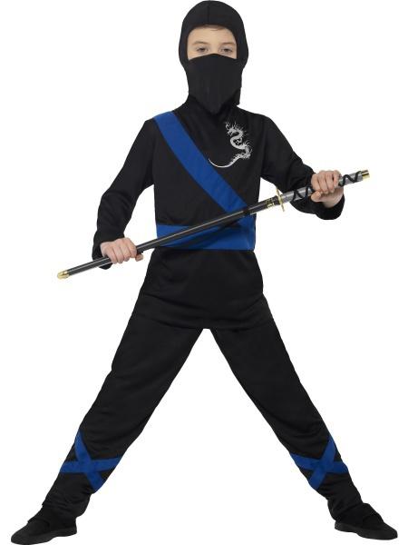33b9d7813d4f Detský kostým Ninja čierny - Karneval