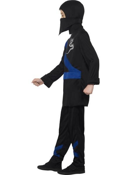 ab812e9fcc08 Detský kostým bojovníka Ninja je tvorený čiernymi nohavicami