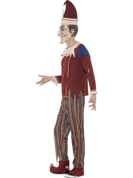 Kostým strašidelnej bábky obsahuje nohavice bf746ef464