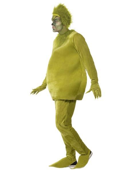 Pánsky filmový kostým škriatok Grinch je tvorený topom eb778c4597d