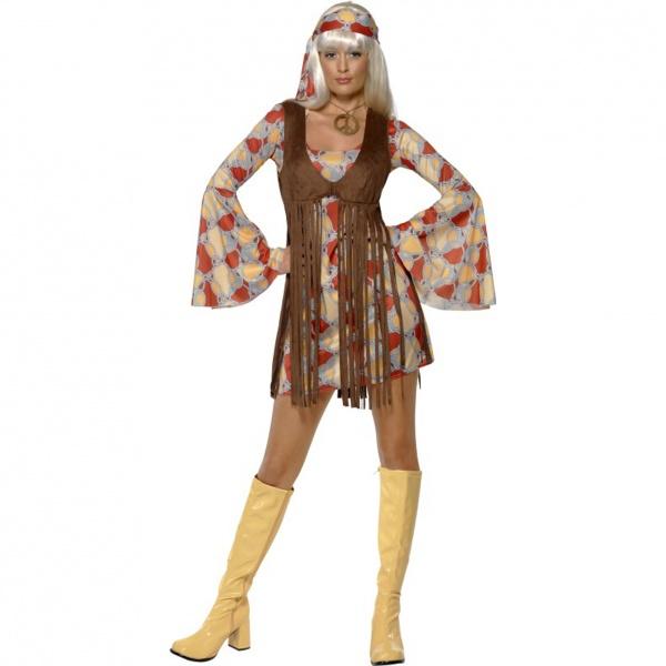 07f2fcbc8505 Kostým Hippie - dámsky - Karneval