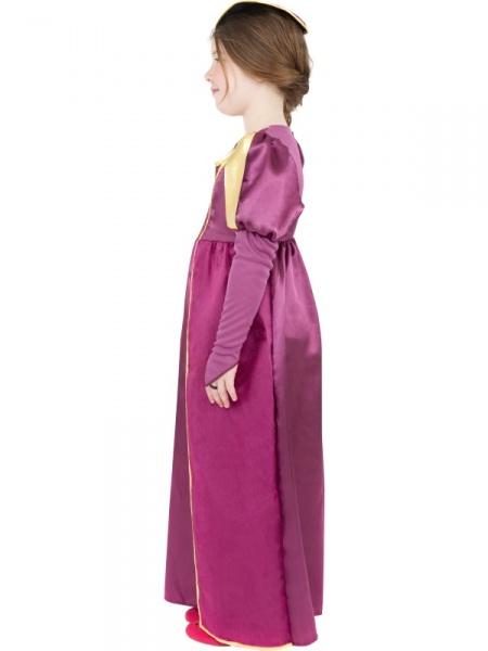 Prekrásne luxusné šaty s pokrývkou hlavy pre malé kráľovny alebo princezny  sa budú veľmi páčiť všetkým dievčatkám! 1c19c9d46c0