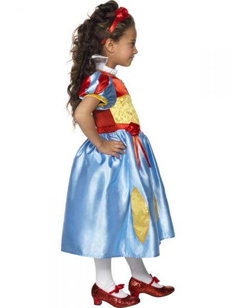 Tento nádherný a luxusný kostým obľúbenej rozprávkovej postavy Snehulienky  zahŕňa šaty b0f34d28c68