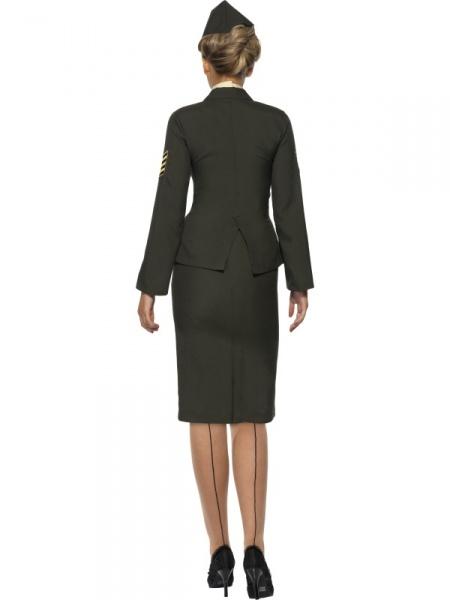 3988226e43d8 Kostým prísnej vojenskej ženy zahŕňa sukňu