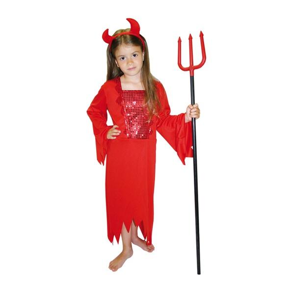 Detský kostým - Malá čertica - Karneval 29e4d23ec49