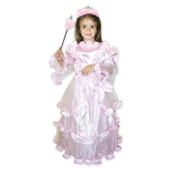 Detský kostým - Princezná Ruženka - Karneval 703f00020a7