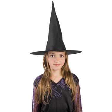 f4353b9dd Detský čarodejnícky klobúk - čierny - Karneval
