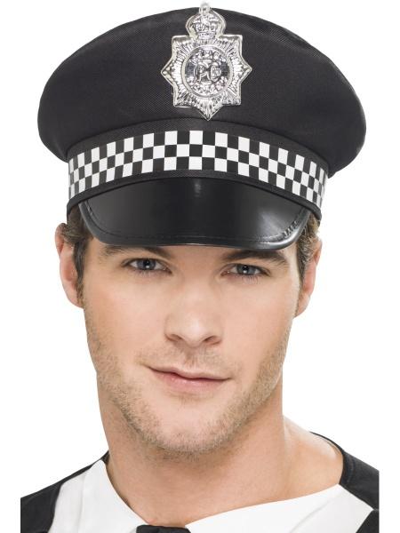 047e32b53 Policajná čiapka - deluxe - Karneval