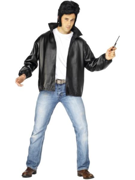 Kostým Pomáda - pánska bunda - Karneval 09b405fd5f