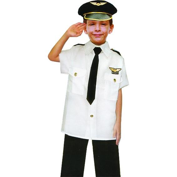 5a59a8d7f42b Detský kostým Pilot - Karneval