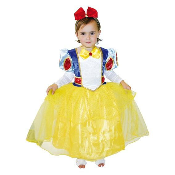 Detský kostým Snehulienka - Karneval dafc03a8809